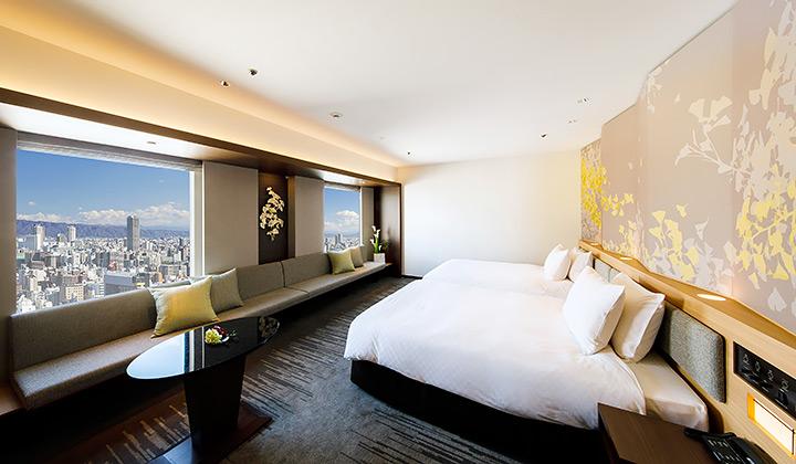 Twin accommodation hotel nikko osaka official site for Design hotel osaka
