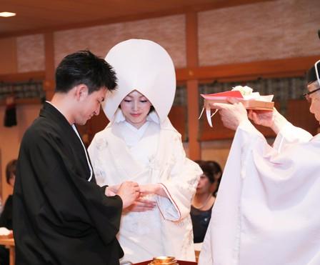 結婚式 大阪 神社式 神前式 和婚