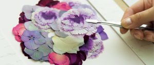 アフターブーケ、押し花