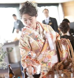 心斎橋結婚式 大阪結婚式場 ビールサーバー