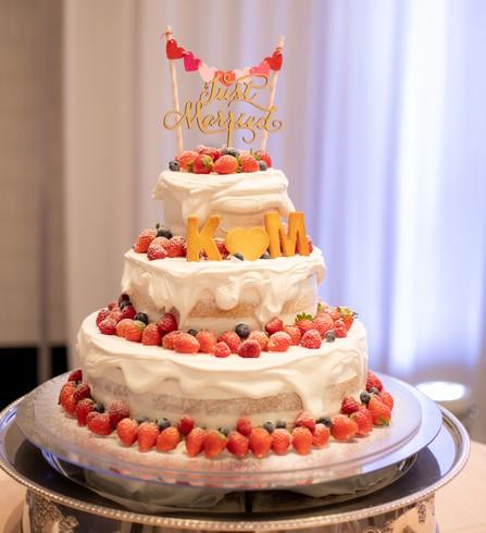 ウエディングケーキ オリジナルケーキ ホテル