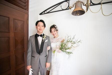 大阪結婚式 心斎橋結婚式 アフターブーケ