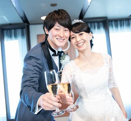 乾杯、結婚式