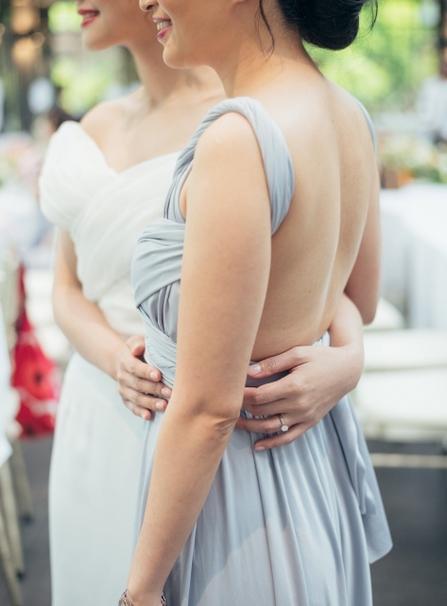 ブライズメイド お揃いドレス メイドオブオナー