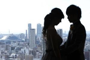 大阪結婚式 大阪景色
