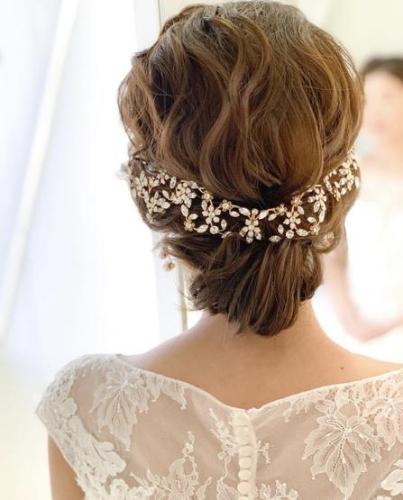 花嫁ヘア ブライダルヘア ヘアスタイル