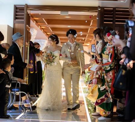 フラワーシャワー 意味、心斎橋 結婚式場
