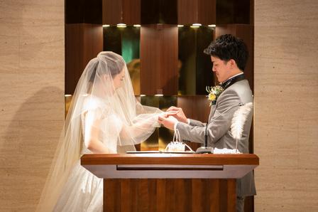 エンゲージリング 結婚式当日、エンゲージカバーセレモニー