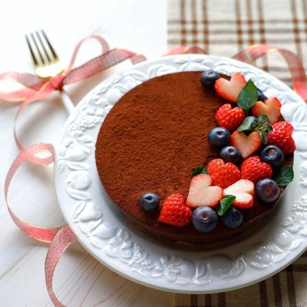 ウエディング演出 バレンタイン チョコレートケーキ ウエディングケーキ