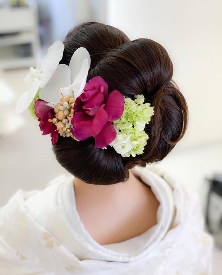 花嫁ヘア、花嫁 和装ヘア