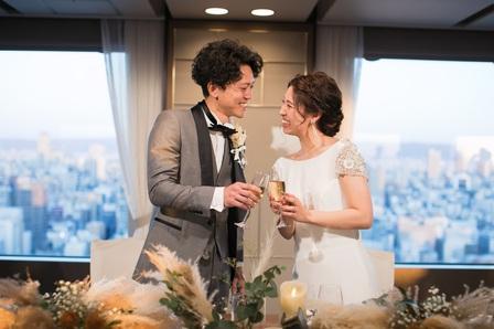 結婚記念日、ウエディングドレス