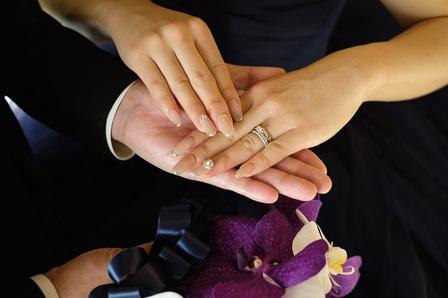 大阪 結婚式 演出 簡単 エンゲージカバーリング