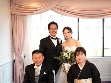 家族婚 演出、家族写真撮影