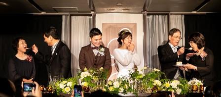 家族婚 演出、お手本バイト